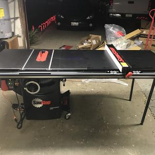 Sawstop professional table saw mobile base mb pcs 000 rockler user submitted image greentooth Image collections