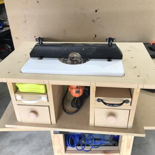 Trim router table rockler woodworking and hardware greentooth Image collections