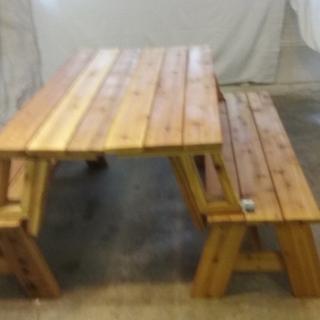 Picnic Table / Bench Combo Plan