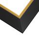 BK10 Black w/Gold Frame