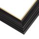EWC9 Black w/Gold Frame