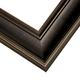 EXL2 Espresso w/Gold Frame