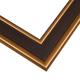 EXM2 Espresso w/Gold Frame