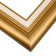 J7 Gold w/ White Liner Frame