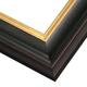 JCL2 Black Plum w/ Gilded Gold Lip Frame