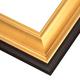 JCL4 Gilded Gold Leaf w/ Matte Pan Frame