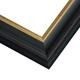 JCM2 Black Plum w/ Gilded Gold Lip Frame