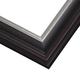 JCM3 Black Plum w/ Gilded Silver Lip Frame