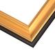 JCM4 Gilded Gold Leaf w/ Matte Pan Frame
