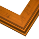 PL11 Copper Leaf Frame