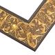 WX477 Antiqued Gold Frame
