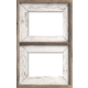 3BW2C810 Whitewash Frame