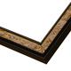 WX514 Black w/ Gold Frame
