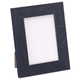 Navy Wood Tabletop Picture Frame