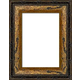 WX554 Antiqued Gold Frame