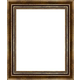 WX547 Antiqued Gold w/ Green Frame