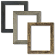 Neutral 3-piece Narrow Tabletop Picture Frame Set