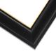 EWD9 Black w/Gold Frame