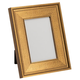 Rich Open Heart Gold Tabletop Picture Frame