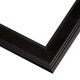 Sophisticated Black Wood Picture Frame
