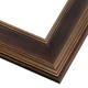 PEM5 Espresso Gold Frame