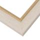 WX556 Cream w/ Gold Frame
