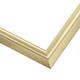 WX408 Soft Gold Frame