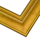 PLC7 Gold Leaf Frame