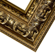 Ornate Gold Finished Picture Frame