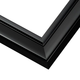 Simple Black Lacquer Picture Frame