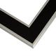 JZ2 Black w/ Silver Frame