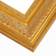 Ornate Satin Gold Picture Frame