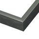 Gunmetal Gray Metal Picture Frame