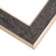Textured Black Barnwood Picture Frame