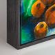 Black Wood Canvas Box Frame