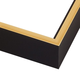 CF6 Black w/ Gold Frame
