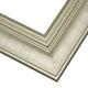PLC8 Silver Leaf Frame