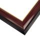 WX575 Gloss Cherry w/ Gold Frame