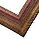 WX546 Antiqued Gold w/ Copper Frame