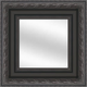 Black W/Cocoa Framed Mirror