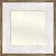 BWM3 Whitewash Barnwood Whiteboard