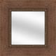 VN8 Distressed Walnut Mirror