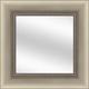 Beaded Silver Framed Mirror