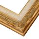 2BQ Antique Gold w/ Linen Liner Frame
