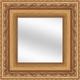 Antique Gold Wood Mirror