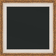 RNR9 Antique White w/ Gold Chalkboard