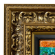 Ornate Gold Canvas Floater Picture Frame