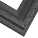 Ornate Black with Cocoa Picture Frame