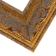 Ornate Gold Wood Picture Frame