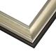 JCM5 Gilded Silver Leaf w/ Matte Pan Frame
